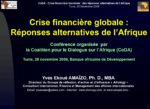 CoDA : Diaporama : crise financiere 24Nov2009 FRENCH