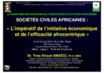 Grande conférence sur l'Afrocentricité et le Panafricanisme : Contribution et intervention du Dr Yves Ekoué Amaïzo