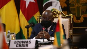 Le président du Ghana, Nana Akufo-Addo est le président en exercice de la Cédéao depuis le 7 septembre 2020